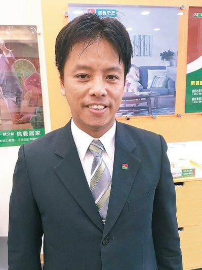 陳弘偉(信義房屋文心高工店)年齡:39歲入行年資:12年