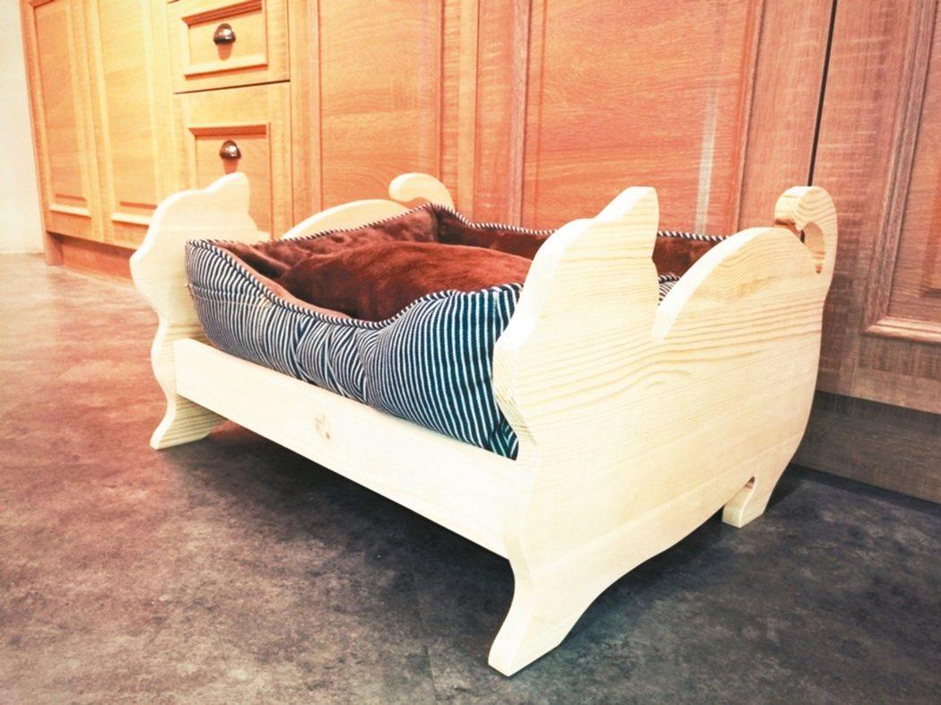 《特力屋》毛小孩睡床課程,體驗價899元 特力屋/提供