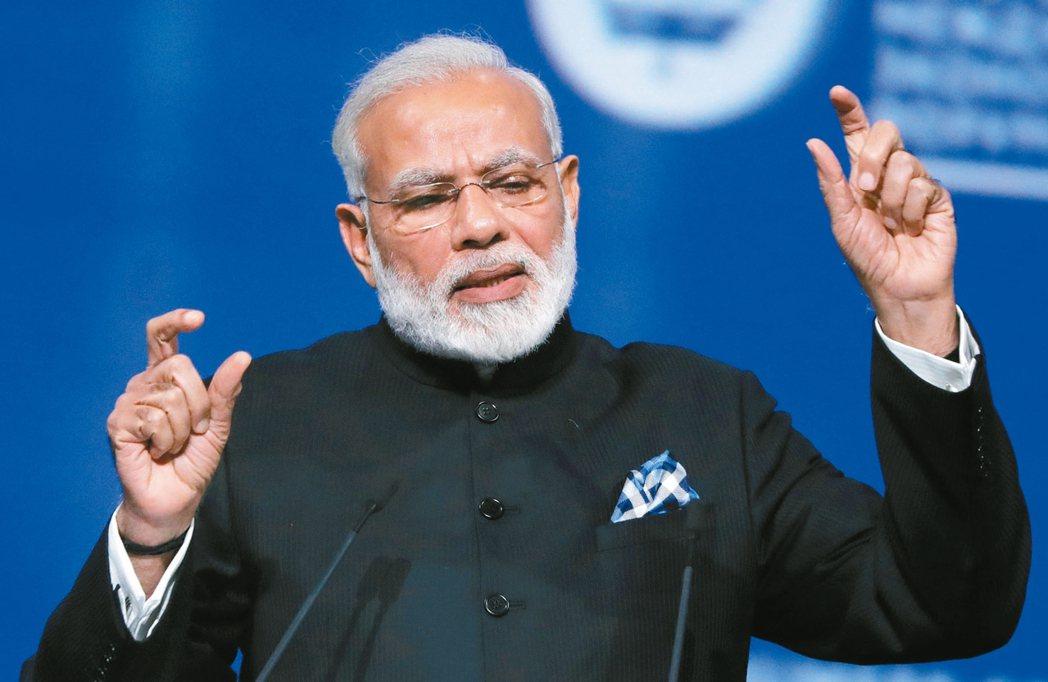 印度總理莫迪(見圖)訪問白宮前夕,美國政府同意出售MQ-9B無人機給印度。 美聯...