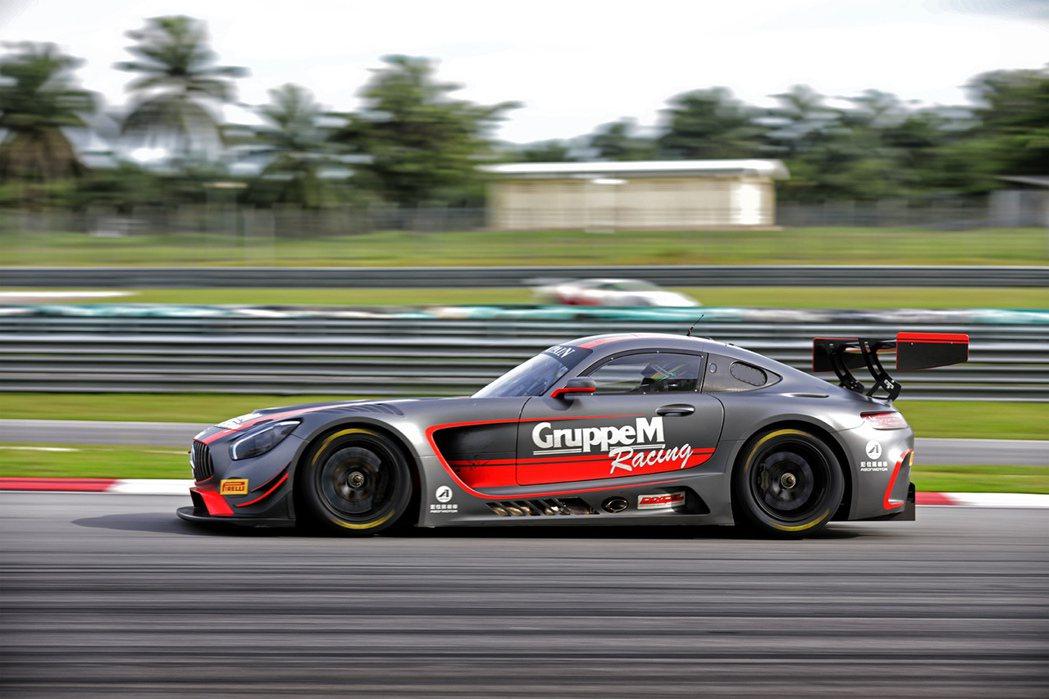 GruppeM Racing由999與888號Mercedes-AMG GT3出...