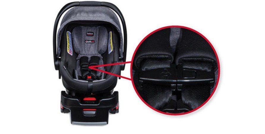 Britax宣布召回20.7萬張嬰幼兒汽車安全座椅,因是安全帶扣零件可能斷裂。(...