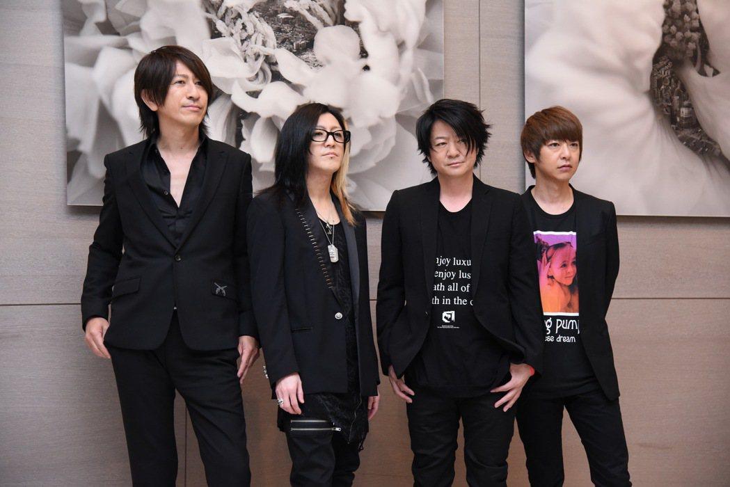 日本天團GLAY將在金曲獎表演,23日接受媒體聯訪。圖/LSG提供