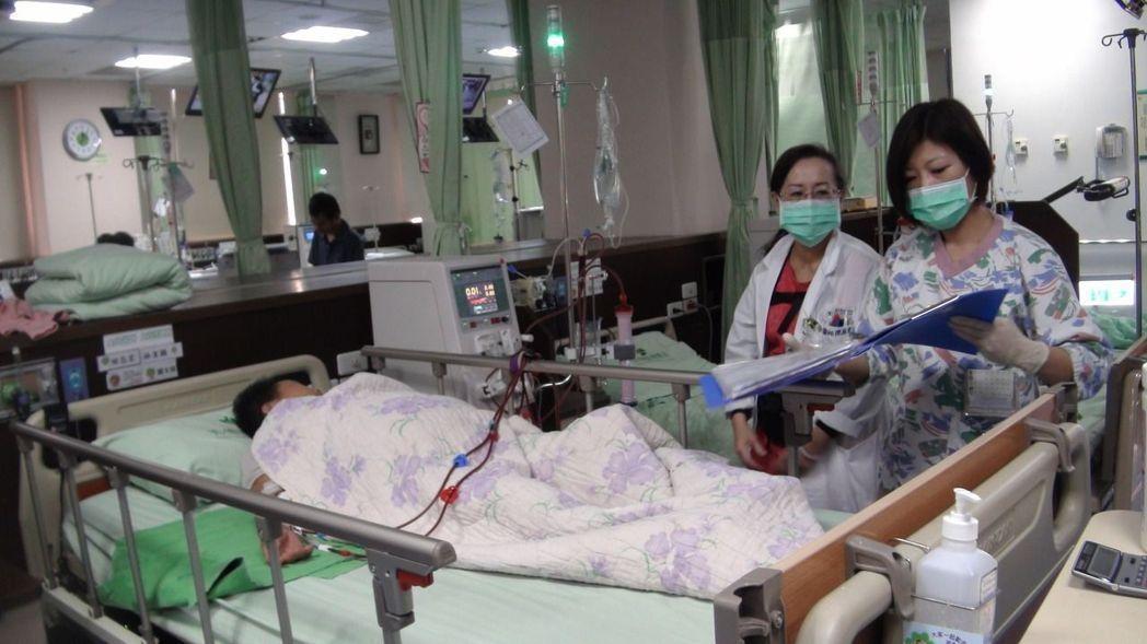 台灣洗腎率高。  聯合報系資料照片