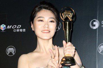 曹雅雯獲得最佳台語女歌手獎曹雅雯。