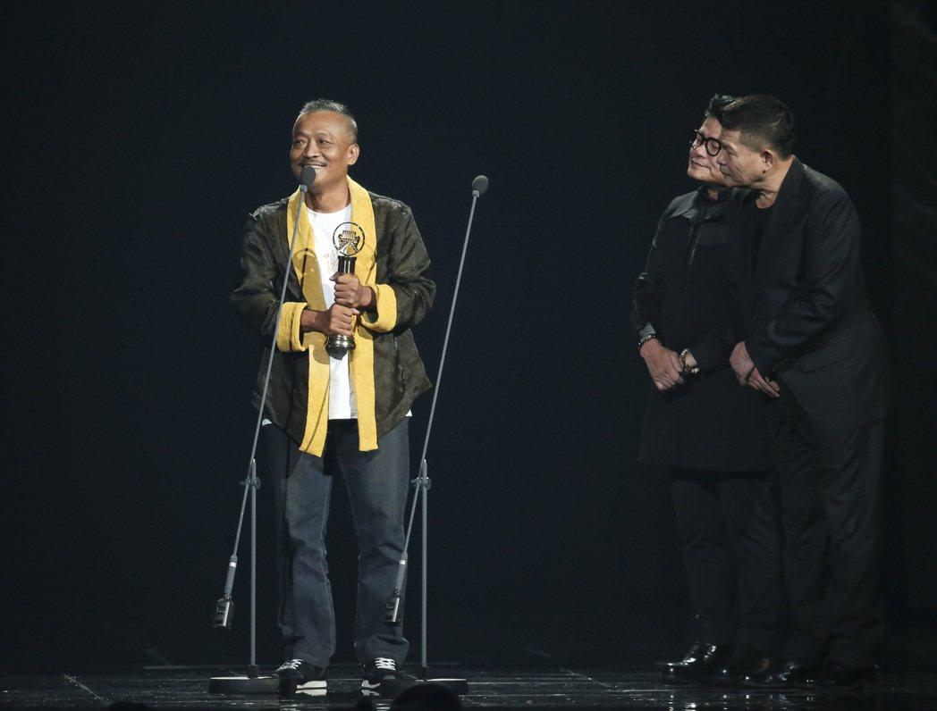 第28屆金曲獎,謝銘祐獲得最佳台語男歌手獎。記者陳立凱/攝影