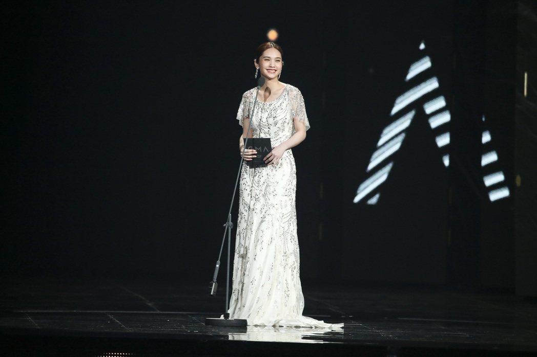 第28屆金曲獎,楊丞琳擔任頒獎人。記者陳立凱/攝影