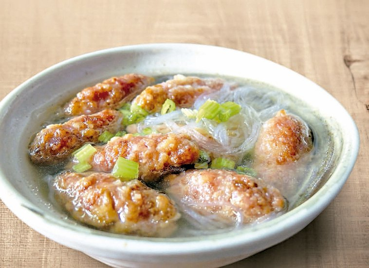 肉丸子湯。 圖片/客委會提供