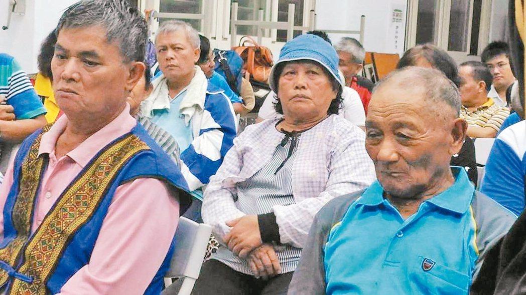 馬遠部落正式成立「還我們馬遠祖先自救會」。 圖/陳張培倫提供(伊藍攝影)