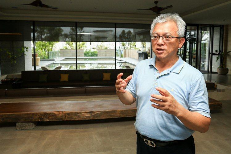 和築開發總經理吳森基。記者林伯東/攝影