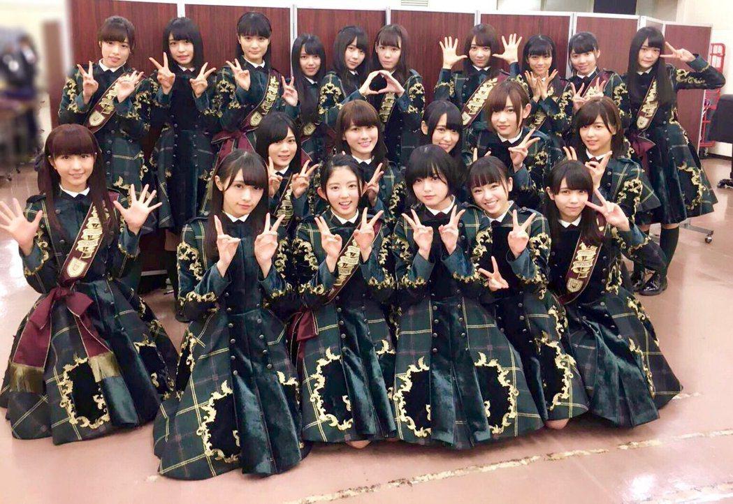 欅坂46握手會,驚傳狂粉闖入。圖/摘自推特