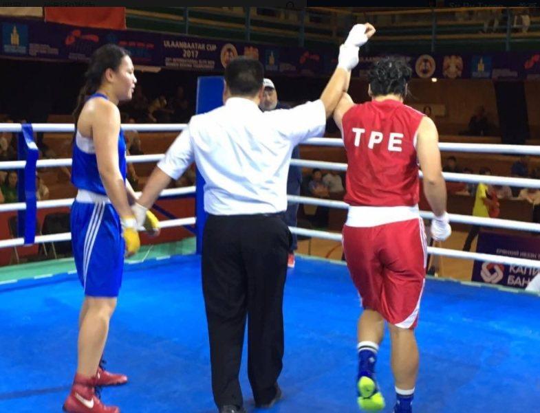 陳念琴打進蒙古烏蘭巴托盃國際拳擊邀請賽金牌戰。 圖/取自亞洲拳擊聯會官網