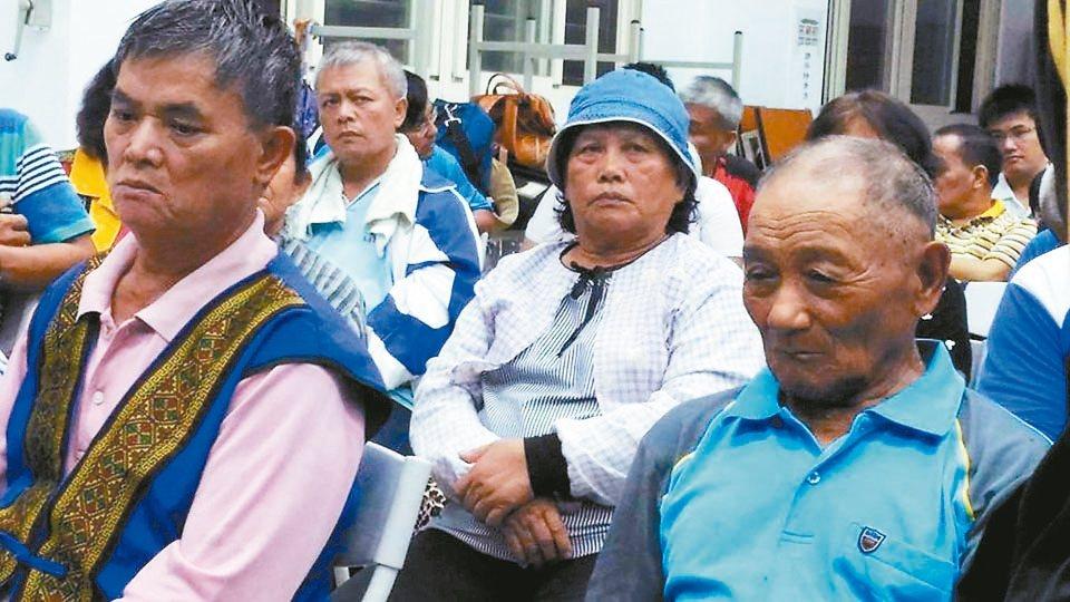 馬遠部落成立「還我們馬遠祖先自救會」。 圖/陳張培倫提供、伊藍攝影