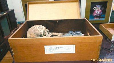 台大醫學院體質人類學研究室指出,目前布農族的骨骼保存狀況良好。 圖/台大提供