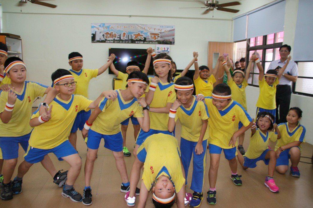 太平國小目前有17名學生,將轉學到安樂國小就讀。 記者曾健祐/攝影
