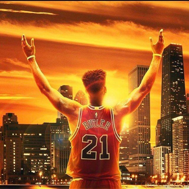 被交易到灰狼的巴特勒,透過個人社群向芝加哥球迷道別。 圖/取自巴特勒IG