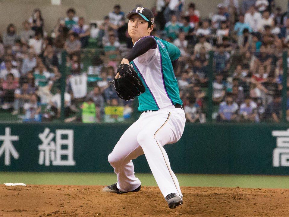 日本火腿隊大谷翔平。 圖/聯合報系資料照片