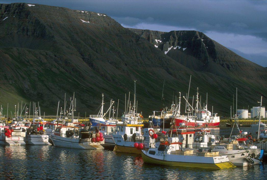 除觀光業外,漁業也是冰島經濟命脈。 美聯社資料照片