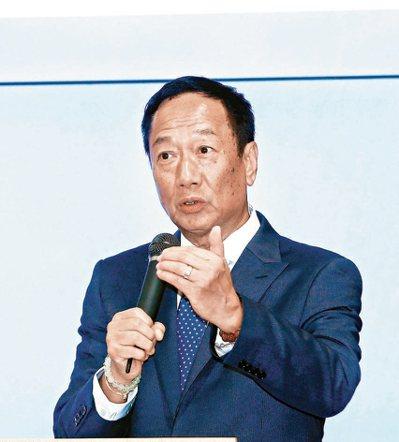鴻海董事長郭台銘。 (聯合報系資料庫)