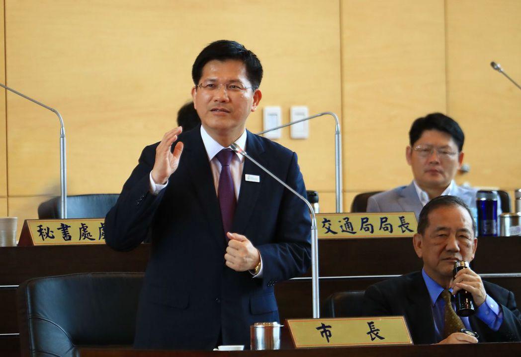 台中市長林佳龍智慧。 聯合報系資料照片/記者洪敬浤攝影