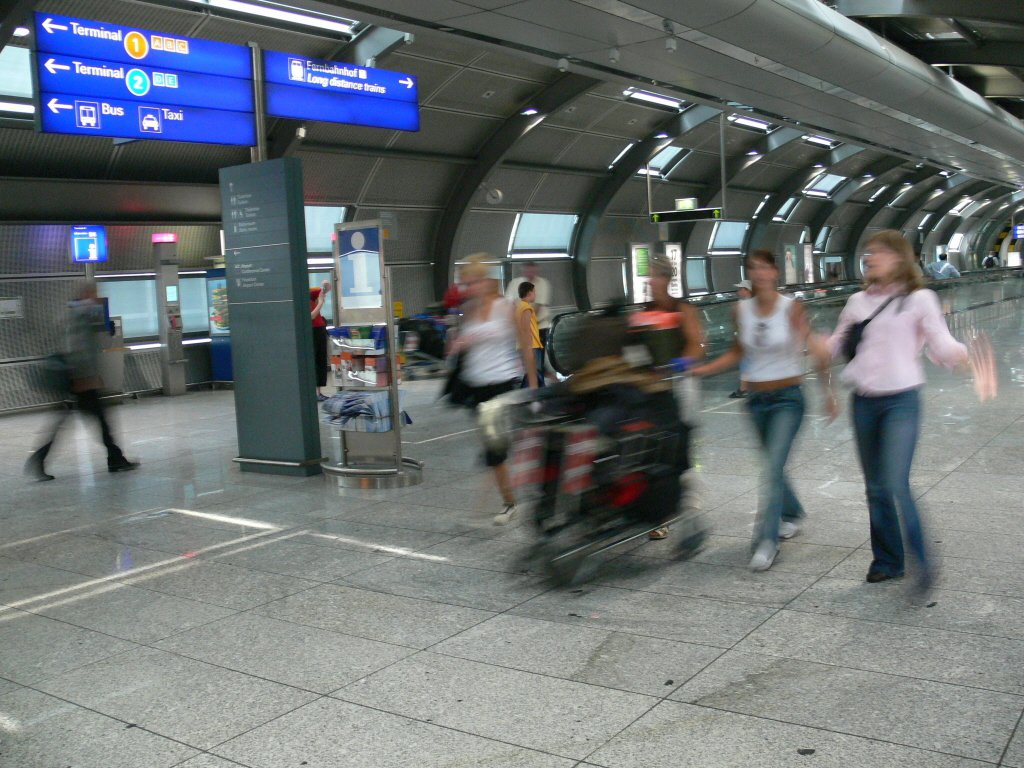 法蘭克福機場。報系資料照