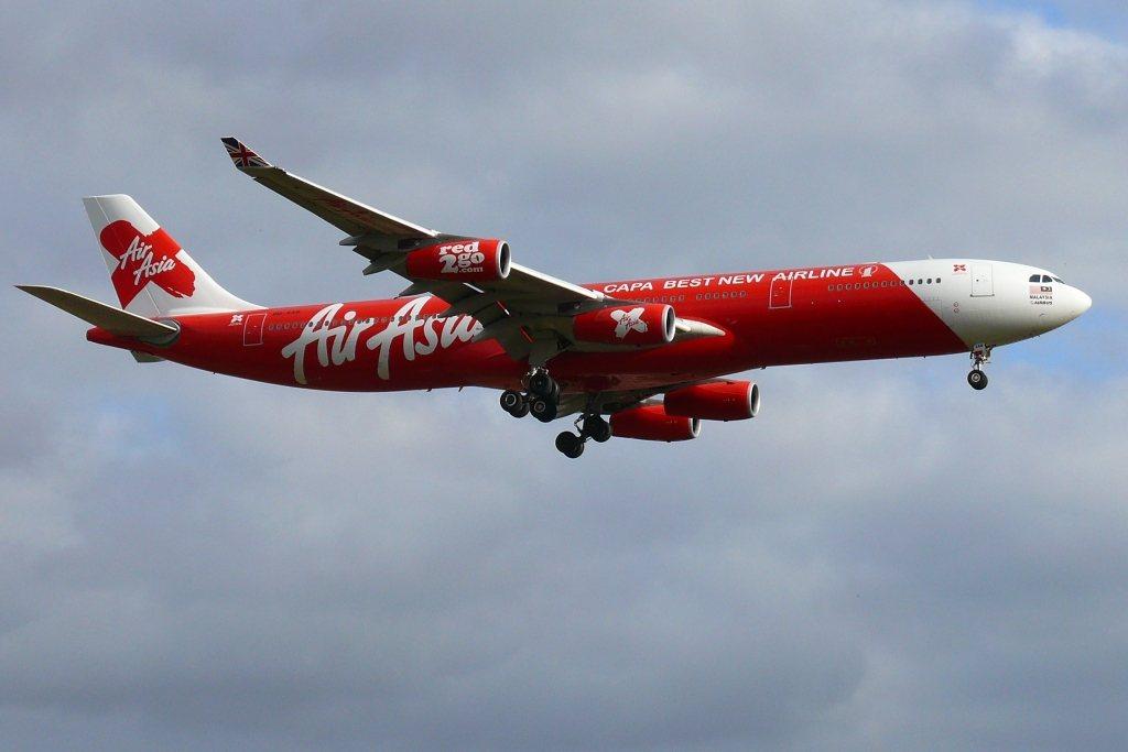 馬來西亞全亞洲航空一架澳洲飛吉隆坡的班機周日因為引擎故障而返航。示意圖,非新聞事...