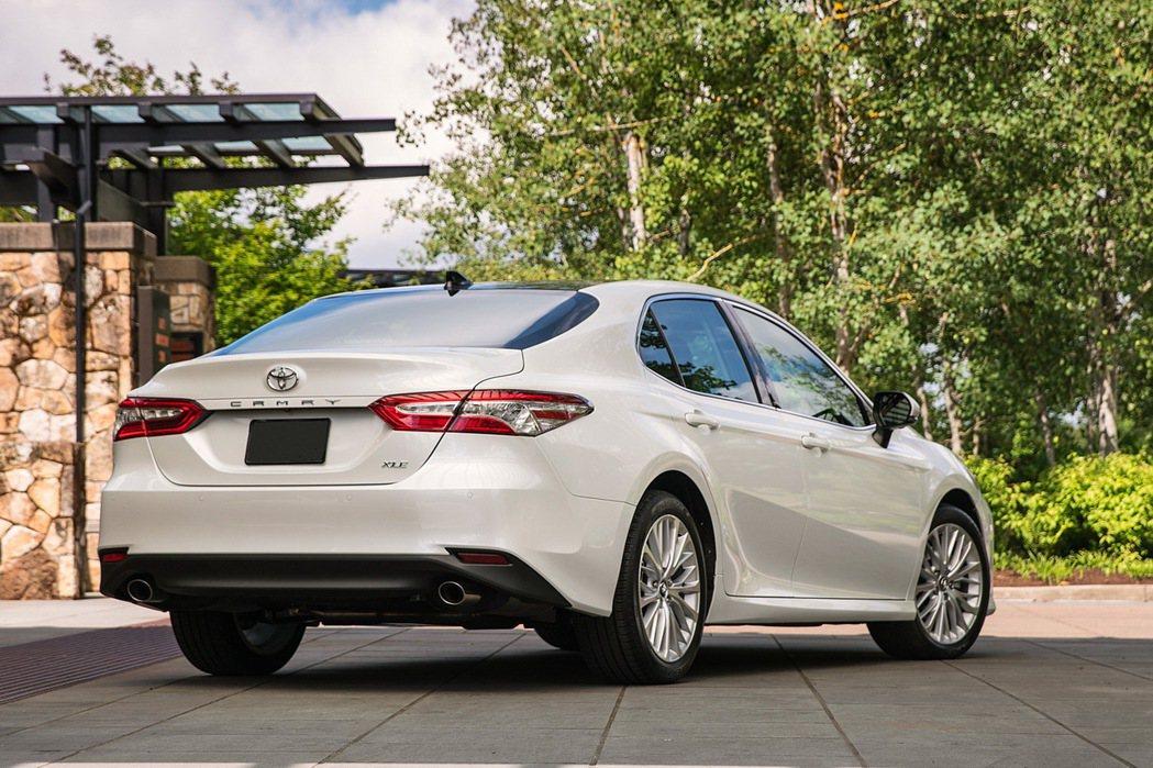 圖為2018年式全新Toyota Camry(美規版)。 摘自Toyota