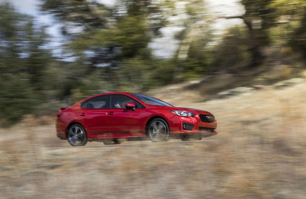 圖為Subaru Impreza。 摘自Subaru