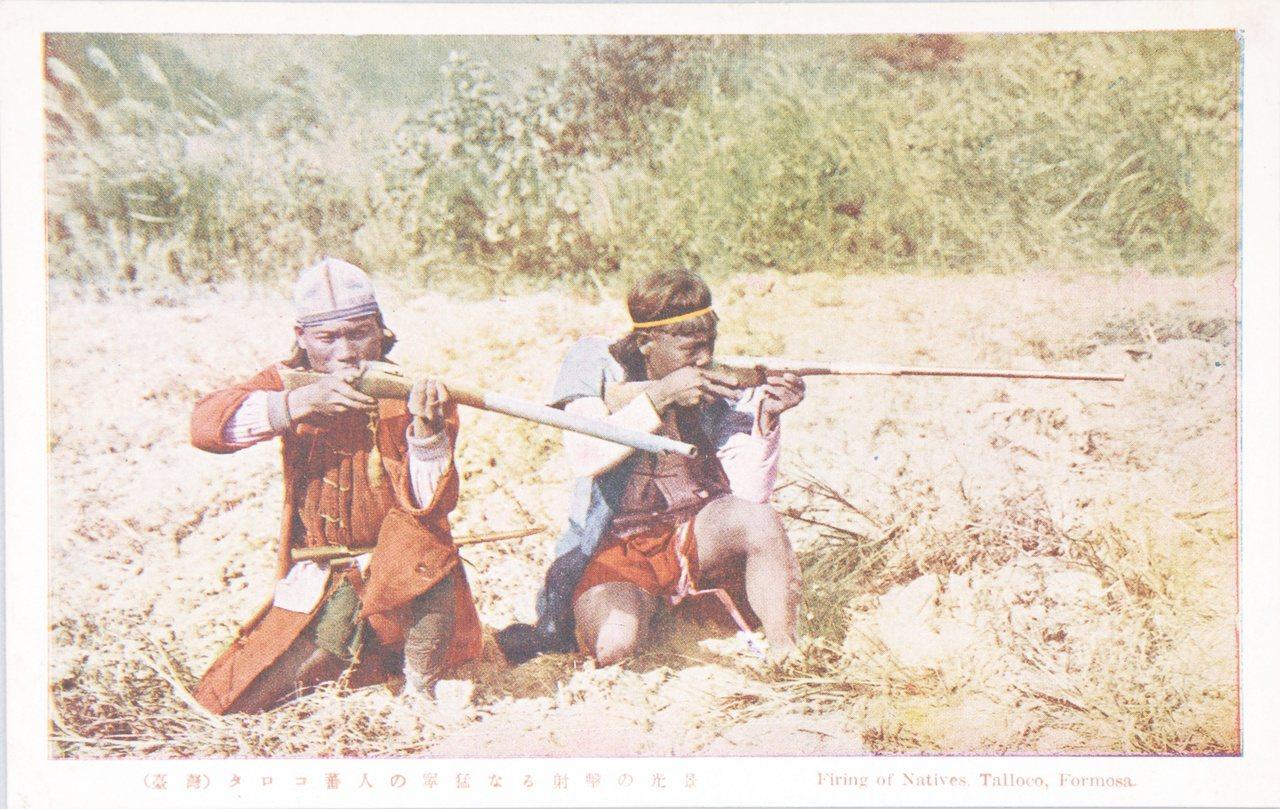 狩獵的能力,是臺灣原住民評價男性能力的方式之一。圖/國立臺灣歷史博物館蒐藏品