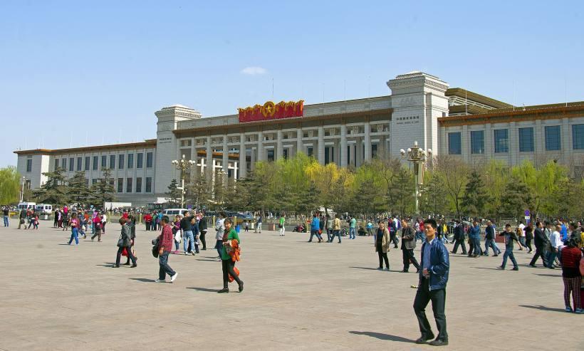 中國國家博物館外觀。圖/取自Wikipedia。
