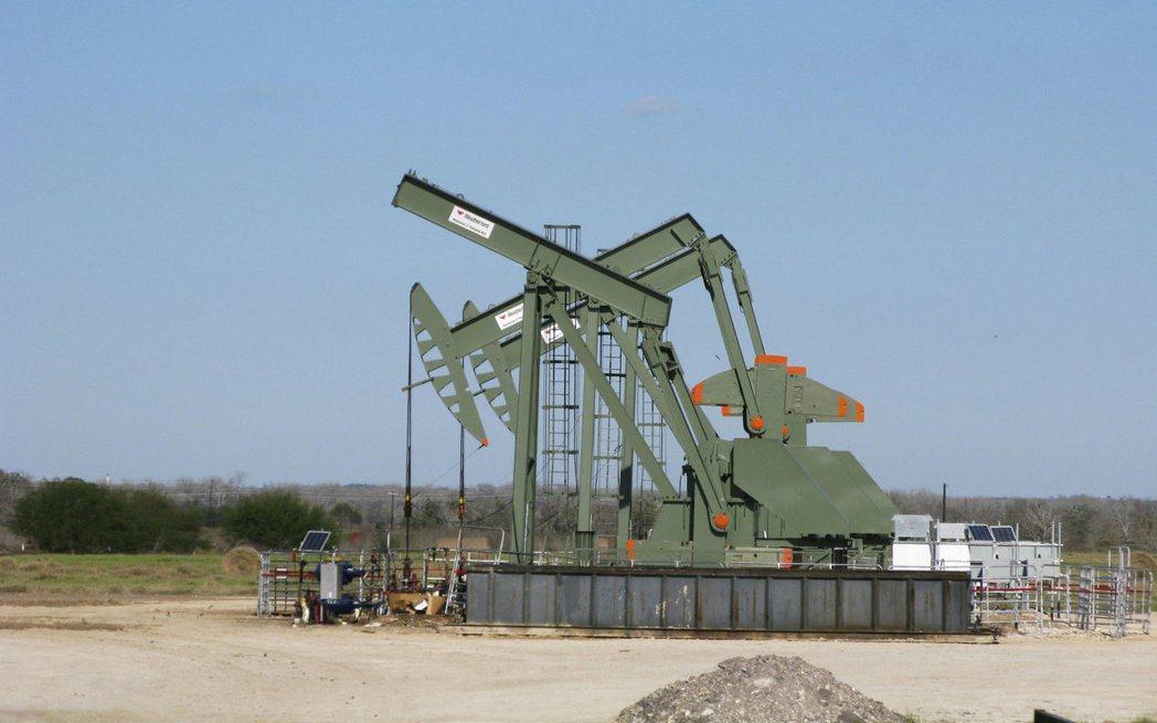 美國頁岩油鑽井數連增23周。(路透)