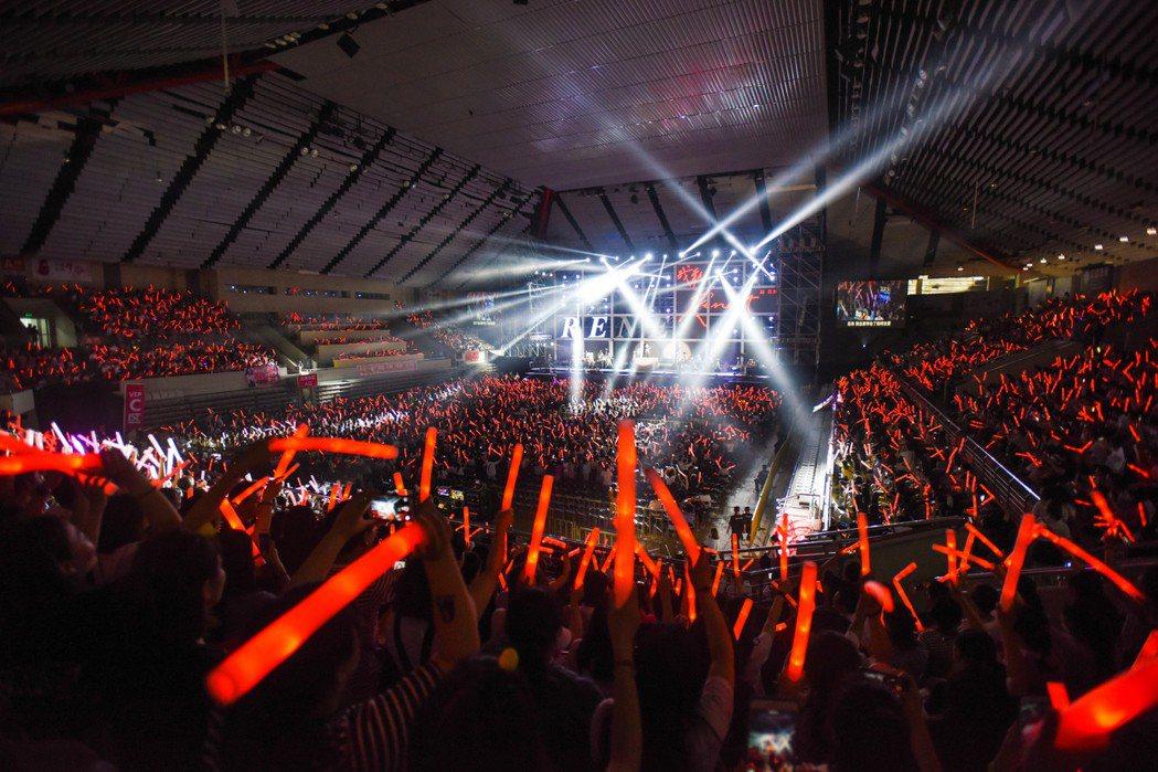 劉若英在揚州完成大陸最終場演唱會。圖/相信音樂提供