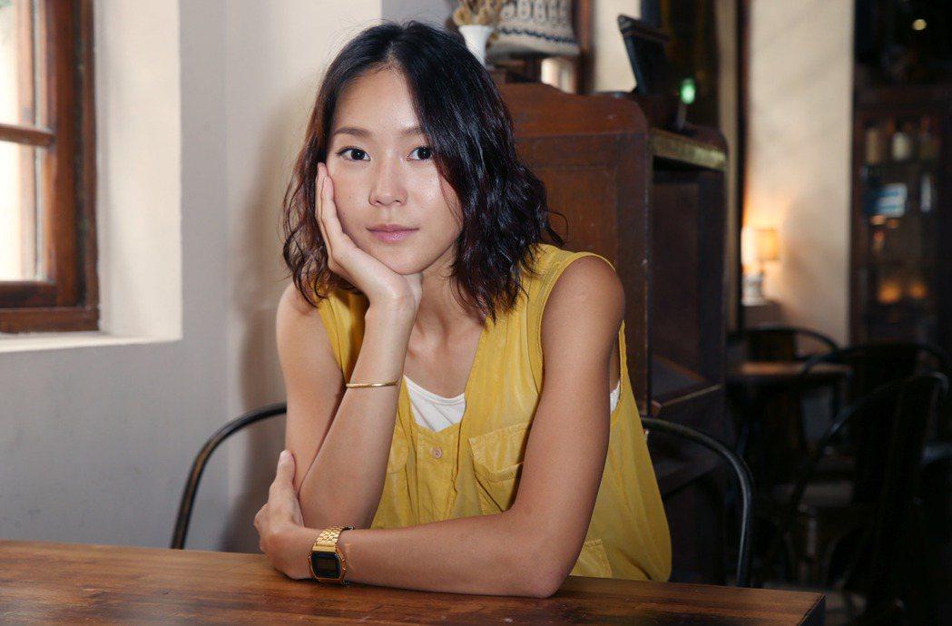 鍾瑶在夢田、三映「替身」中演出網紅帥T。記者林俊良/攝影