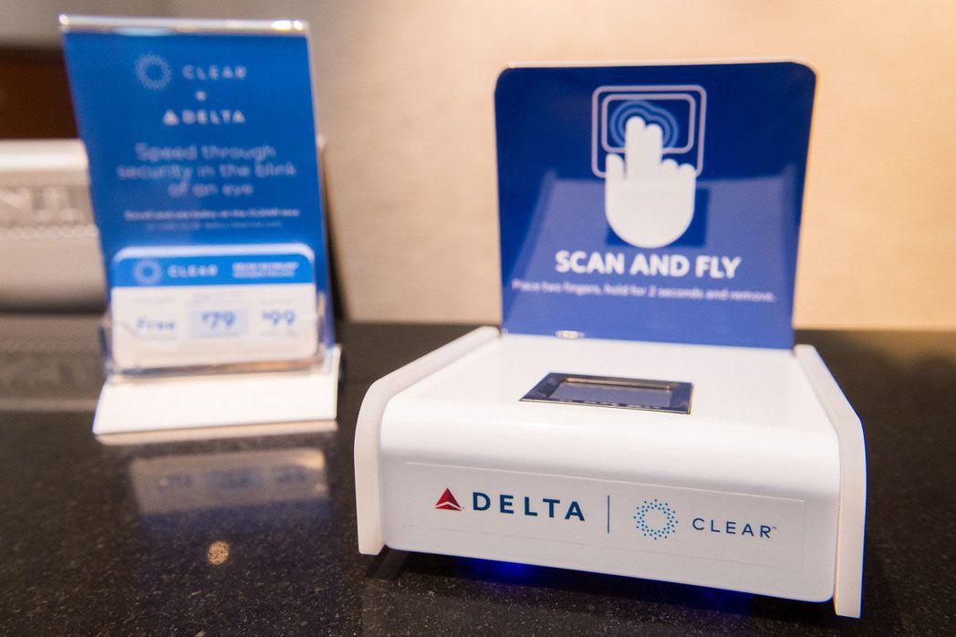 達美航空將在DCA推行「指紋識別」登機。(達美航空提供)