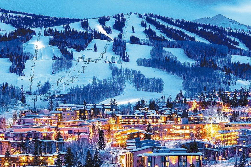 美國科羅拉多州建築若影響到天際線,民眾可以提告;圖為科羅拉多州斯諾馬斯村豪宅區。...