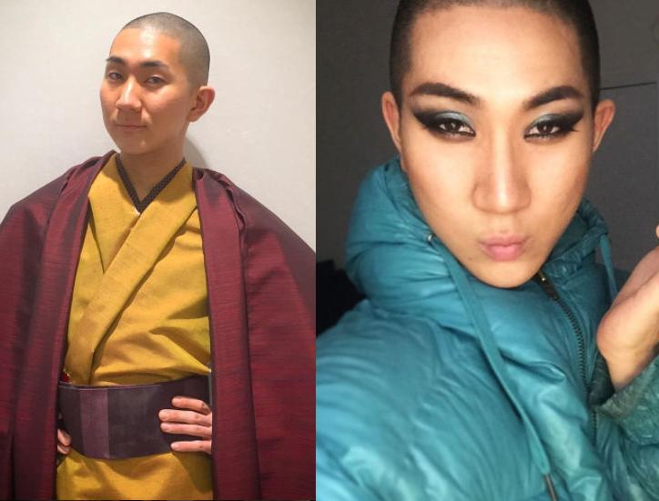 西村宏堂是一名出櫃的同志,同時也是僧侶,他喜歡替人化妝,讓人更有自信。圖擷自西村...