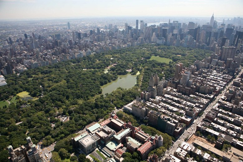 紐約中央公園。 圖/美聯社