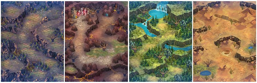 四大屬性島嶼中,尚無人抵達過的未知地域,即將開放玩家深入探索。