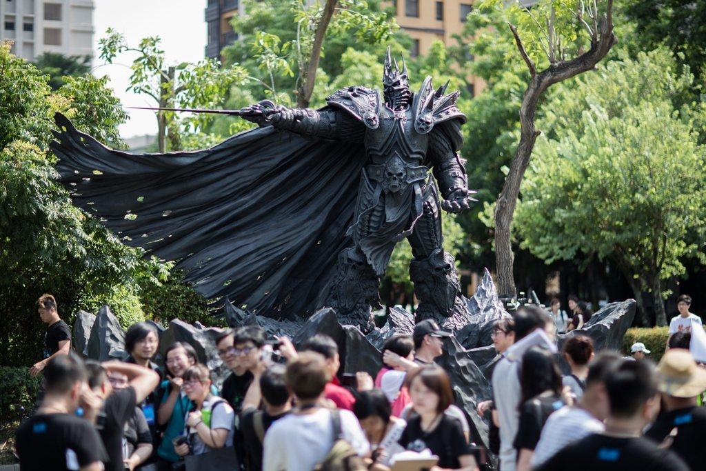暴雪娛樂將於7月15日(六)於台中草悟道舉辦「阿薩斯雕像周年野餐派對」。 圖/暴...