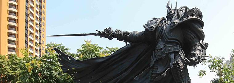 來自巫妖王的請帖!阿薩斯雕像周年野餐派對。