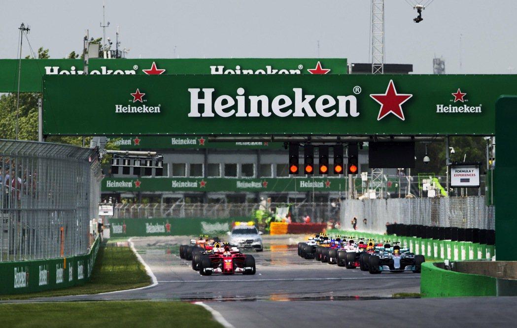 海尼根與F1從今年賽季開始,簽下長達五年的冠名贊助合約。圖/海尼根提供