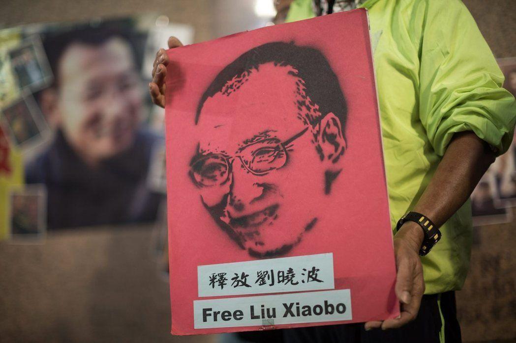 遭中國大陸監禁的諾貝爾和平獎得主劉曉波傳出肝癌末期保外就醫。 圖/歐新社資料照