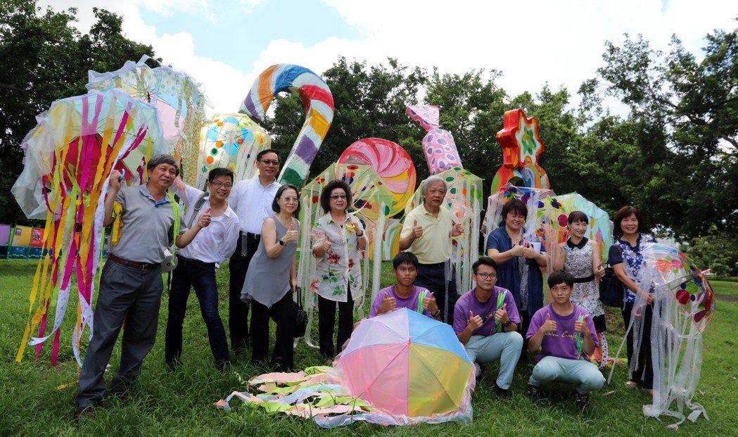 「2017高雄瘋藝夏」兒童藝術節將在7月1日熱鬧開幕,包括藝術大偶踩街、藝術體驗...