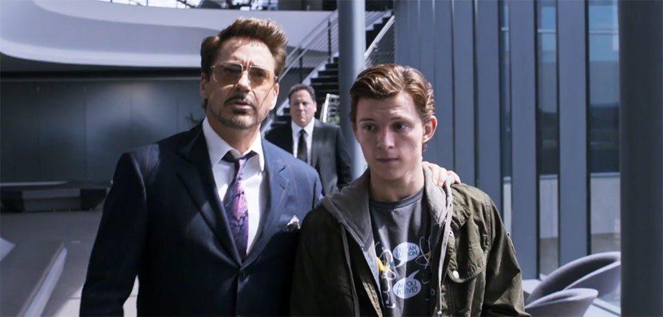 小勞勃道尼、湯姆霍蘭德將在「蜘蛛人:返校日」攜手合作。圖/索尼提供