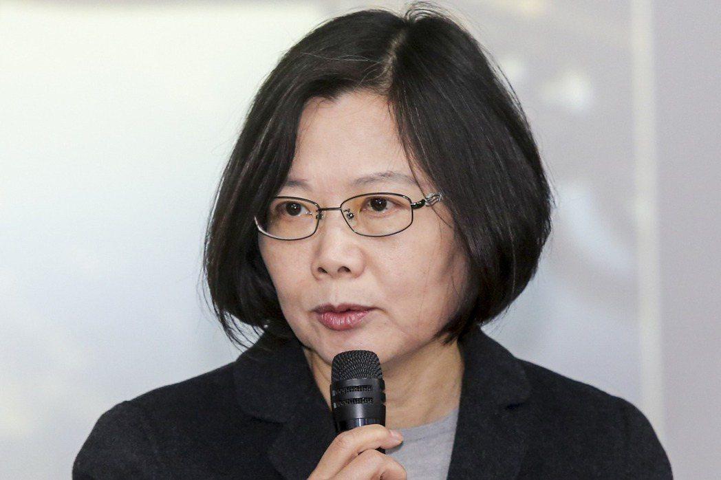 蔡英文總統提出不缺電、永續台灣的亮麗願景,未料卻成為她執政的噩夢。 聯合報系資料...