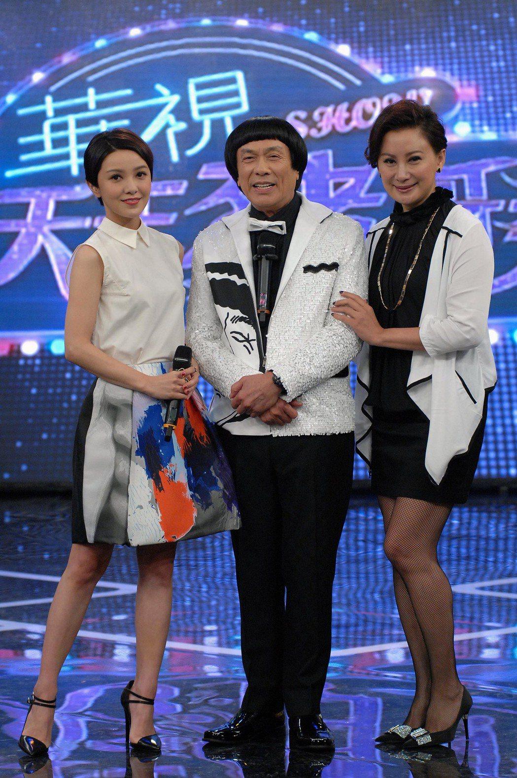 超級天王豬哥秀請到郭采潔當來賓。圖/華視提供