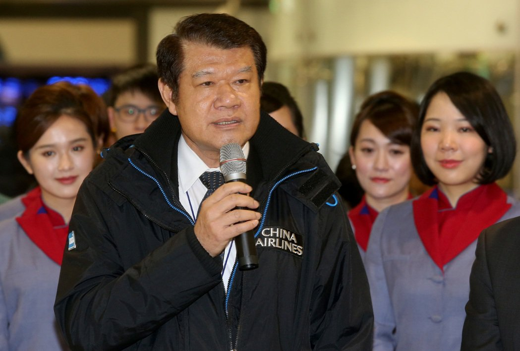中華航空公司董事長何煖軒。記者陳嘉寧/攝影