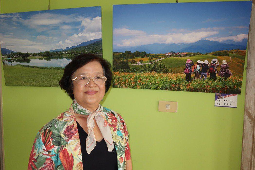 73歲的黃菊治力行365天攝影計畫,每天都透過鏡頭看到不同世界。記者翁禎霞/攝影
