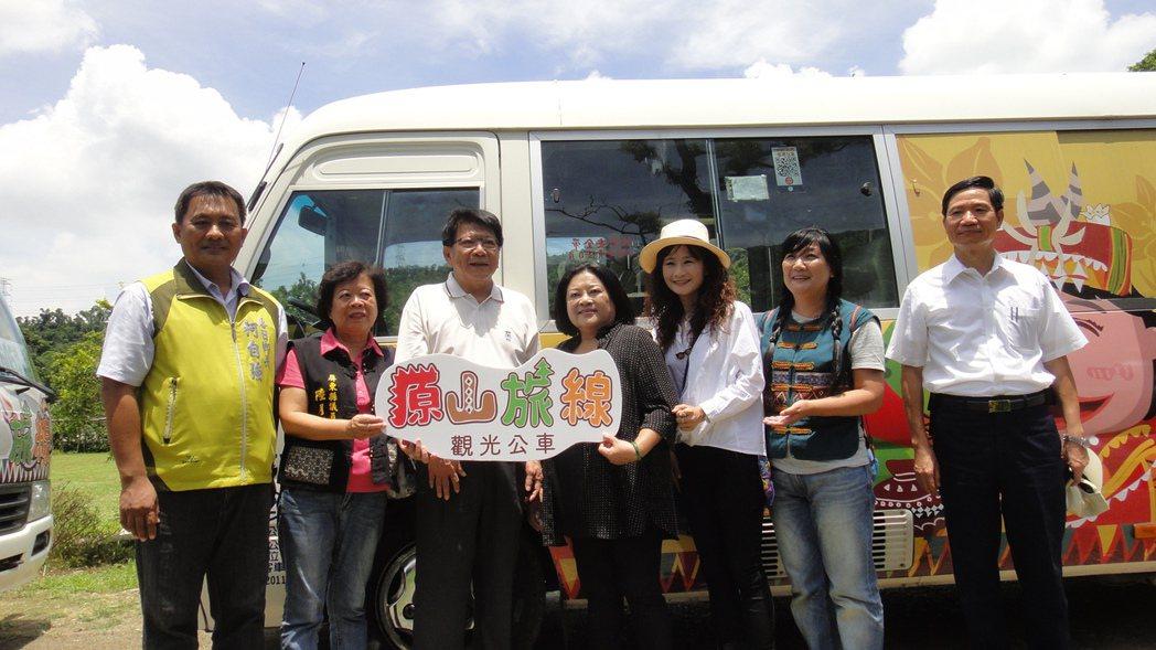 185沿山公路觀光公車在7月1日就會正式上路。記者蔣繼平/攝影