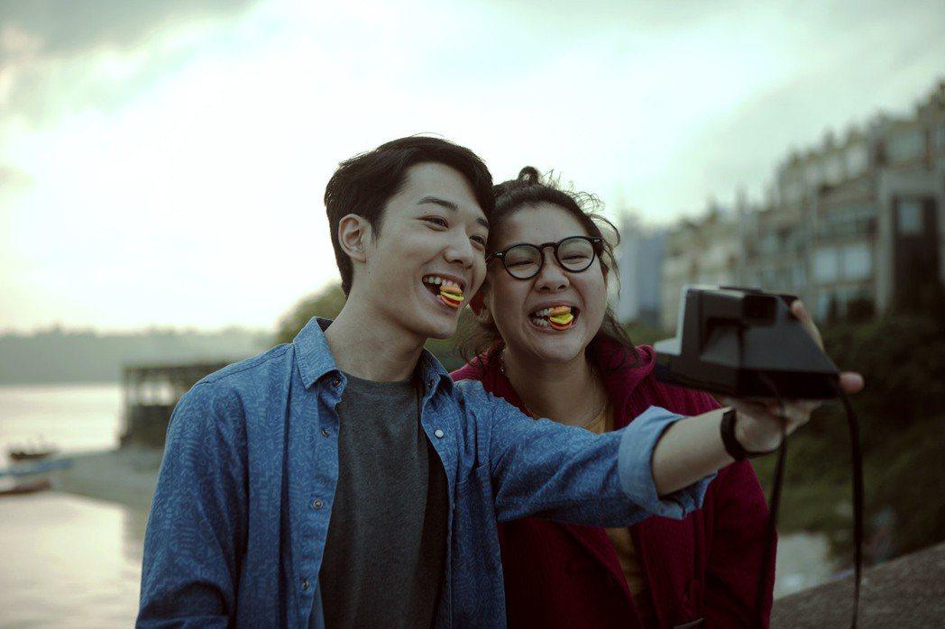 鄭欣宜在新片「29+1」中與男星蔡瀚億合作。圖/華映提供