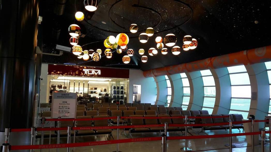 高雄國際航空站獲得行政院「政府服務品質獎」。圖/民航局提供